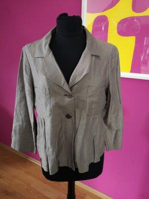 Max & Co. Chaqueta tipo blusa marrón grisáceo Algodón