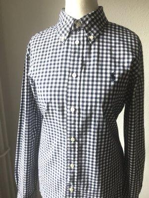 Polo Ralph Lauren Shirt Blouse dark blue-white cotton