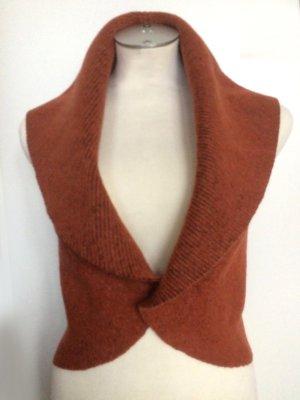 Reversible Vest russet wool