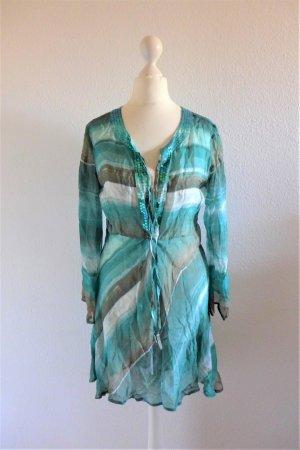 Impressionen Blusa a tunica multicolore