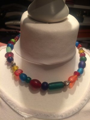 Collier multicolore