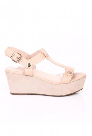 Made in Italy Plateauzool sandalen nude-room
