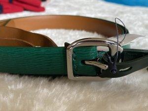Ralph Lauren Leather Belt green leather