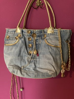 Designer Handtasche Jeans