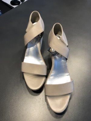 Designer Hogan Sommer Sandalen mit Plateau
