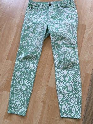 Diane von Furstenberg Pantalón de cinco bolsillos menta Algodón