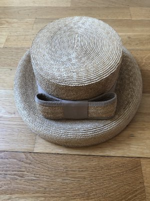 Straw Hat beige mixture fibre