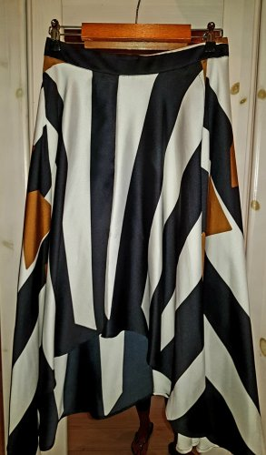Imperial Black Label Jupe asymétrique multicolore
