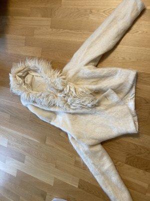 Anja Gockel Oversized Jacket natural white
