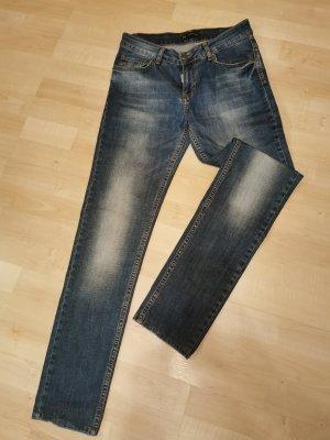 Dsquared2 Jeans a gamba dritta blu
