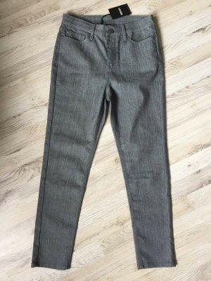 DKNY Jeans a carota grigio-grigio scuro Cotone