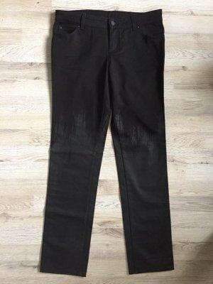 Gucci Jeansy z prostymi nogawkami czarny Bawełna