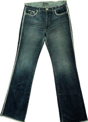 *  Designer  Jeans  mit  strapazierten  Säumen  *  Gr. L  *