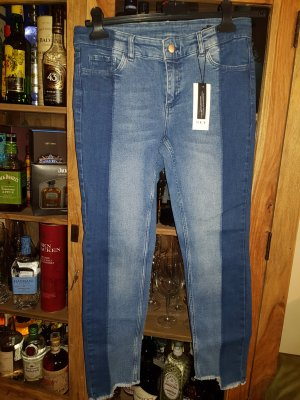 Designer Jeans Skinny von SET Boho d.g. wie Neu destroyed liu true