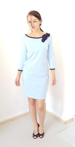 Denim Dress dark blue-baby blue viscose