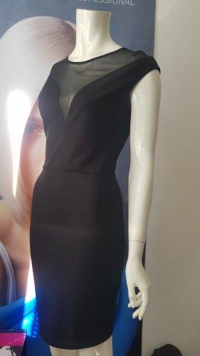 Designer kleid das kleine Schwarze small transparente einsätze