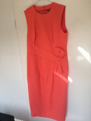 KAREN MILLEN Vestido de noche naranja claro