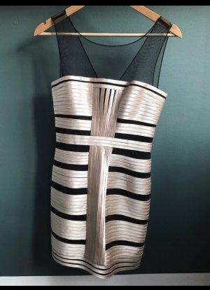 Designer Kleid von BCBG Maxazria Designer goldene 20s Party Cocktail Dress