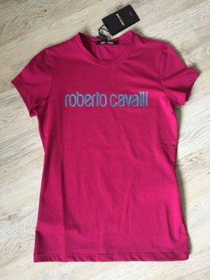 Designer Logo T-Shirt von Roberto Cavalli