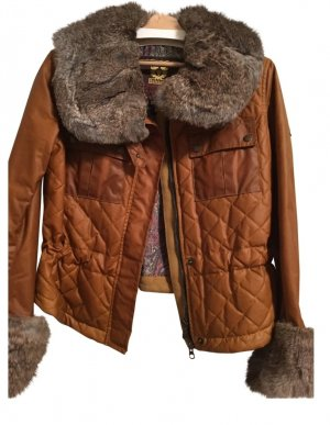 Designer Marken Biker Belstaff Jacke Wachs Leder Used Look Eur 789 Echtfell