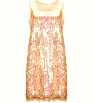 Anna Rachele Sukienka mini jasny różowy Poliester