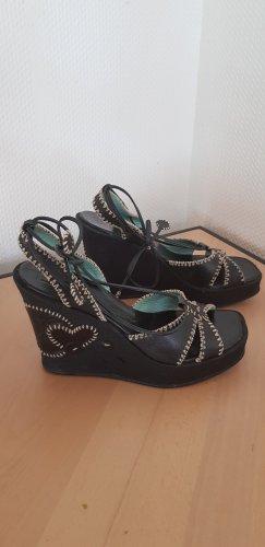 Biviel Sandalias de tacón con plataforma negro