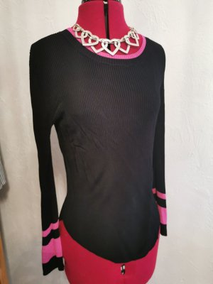 81hours Pull tricoté noir