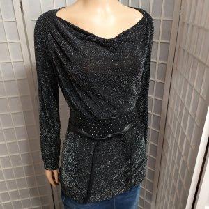 Liu jo Koszulka z dekoltem woda czarny