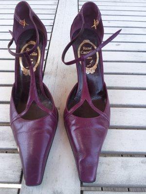 T-Strap Pumps violet