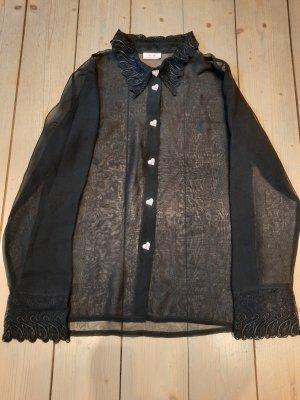 Verona's Dreams Pyjama noir acrylique