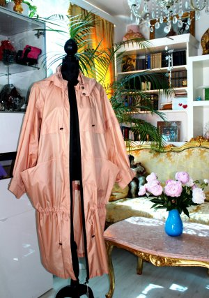 Ixos Heavy Raincoat nude polyester