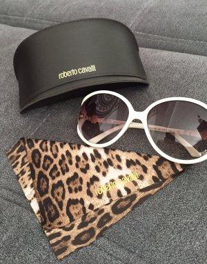 Roberto Cavalli Gafas de sol ovaladas blanco
