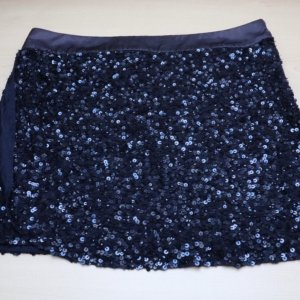 Angelina Tulle Skirt dark blue-blue