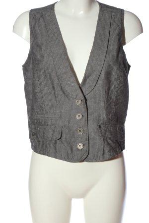 DESIGNER'S Waistcoat light grey flecked business style