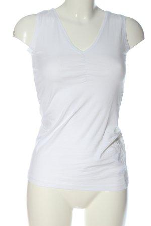 DESIGNER'S Haut basique blanc style décontracté