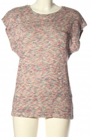 DESIGNER'S Knitted Top multicolored casual look