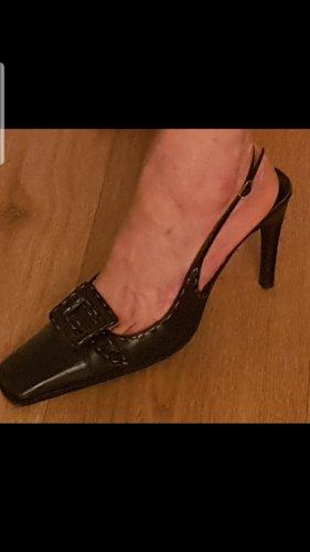 Casadei Hoge hakken sandalen zwart