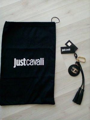 Just cavalli Key Chain gold-colored-black