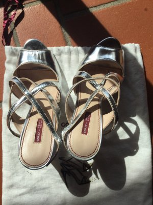 Sonja Kiefer Strapped Sandals silver-colored