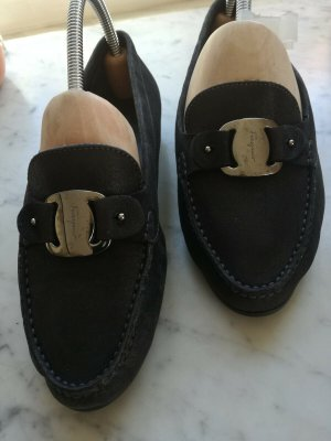 Designer Slipper von Salvatore Ferragamo - Gr.38,8 C