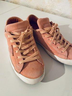 Designer Sneaker von Philippe Model in Neon Apricot