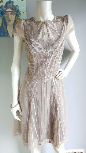 Designer- Spitzenkleid // Sommerkleid// Cut-Out-Kleid // Ballkleid // Brautkleid in creme