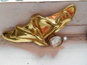 Spilla oro-bianco Metallo