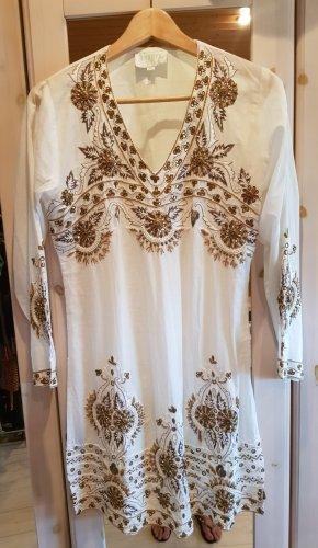 Designer Strand Boho Antica Ananya Kleid Stickereien