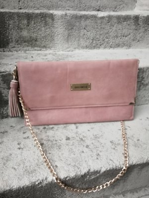 Bolso de mano rosa empolvado-rosa