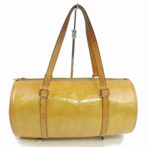 Louis Vuitton Frame Bag dark yellow mixture fibre