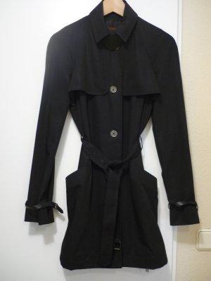 Bally Trench Coat black wool