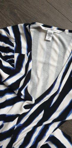 Diane von Furstenberg Vestido cruzado multicolor
