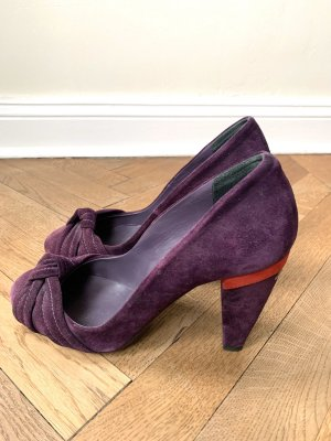 Costume National High Heels dark red-lilac