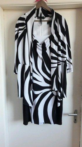 Designer Zweiteiler Kleid mit Jacke Kombi Kostum